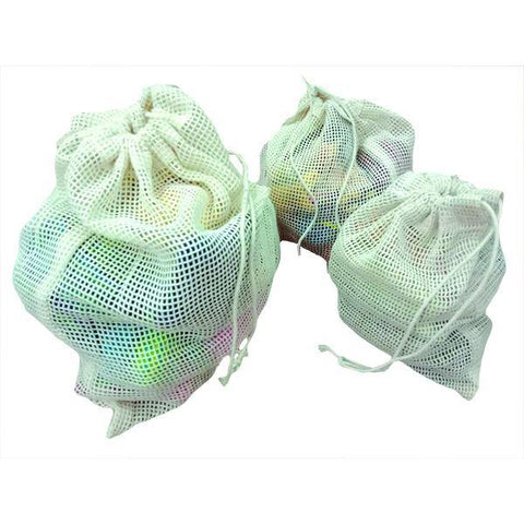 Fine Net Fruit & Vegetable Bags Set of 3