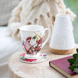 Flowering Gum and Pink Cockatoo Mug (Promo) - The Leprosy Mission Australia Shop