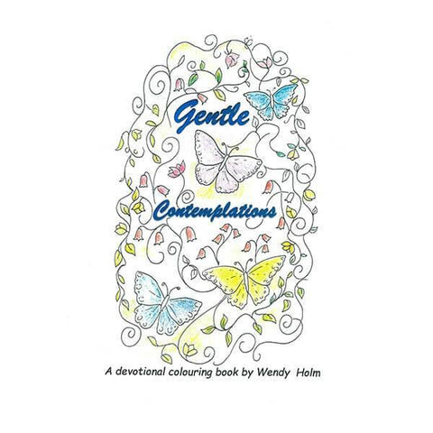 Gentle Contemplations Devotional Colouring Book