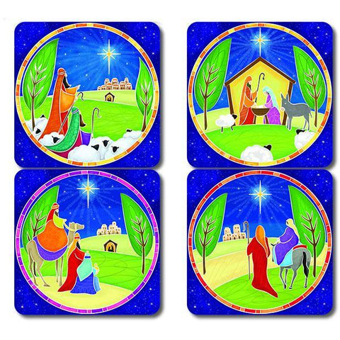 Glorious Christmas Coasters