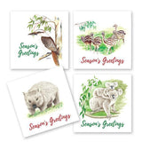 Aussie Animals Greetings Card 4 Pack - The Leprosy Mission Australia Shop
