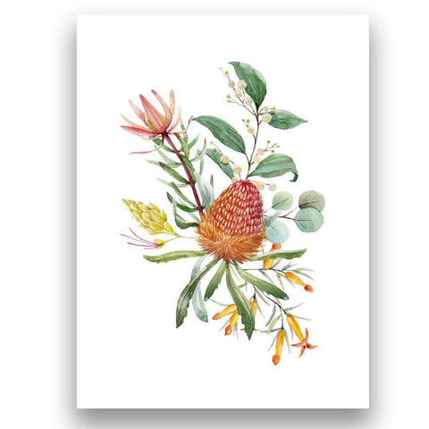 Banksia and Eucalyptus e-Greeting Cards - The Leprosy Mission Australia Shop