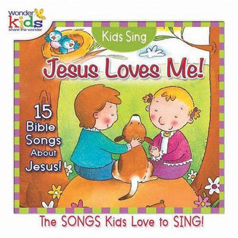 Kids Sing Jesus Loves Me CD