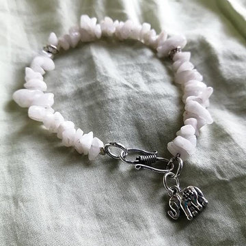 White Stone Bracelet - The Leprosy Mission Australia Shop