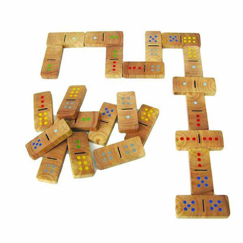 Wooden Domino Blocks