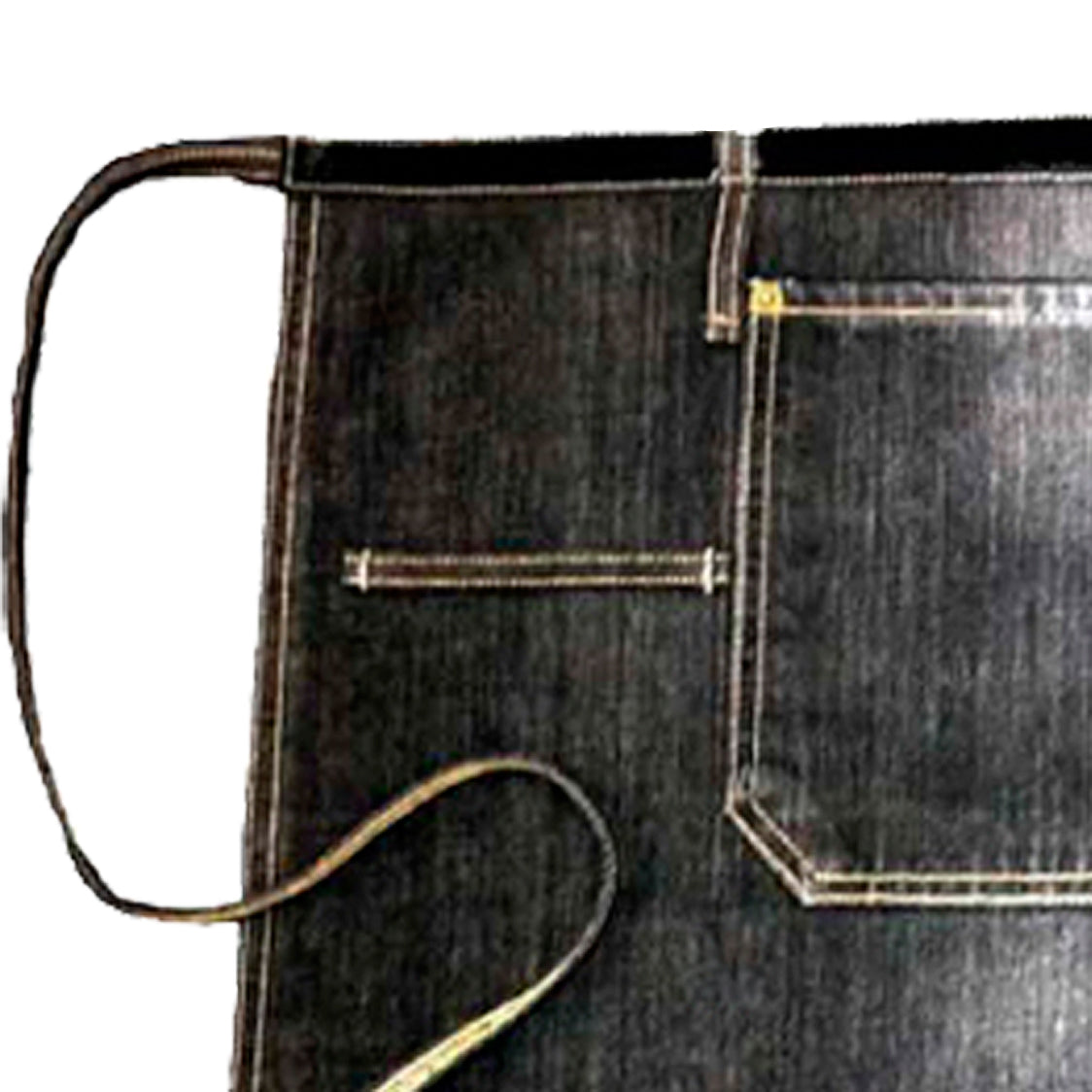 Black denim waist apron | Golden Monkey