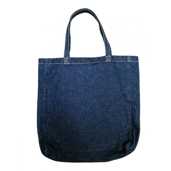 Vintage Wash Denim Bag | Golden Monkey - Golden Monkey
