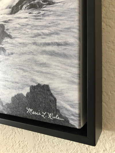 Pebble Beach #7 -Pencil Drawing