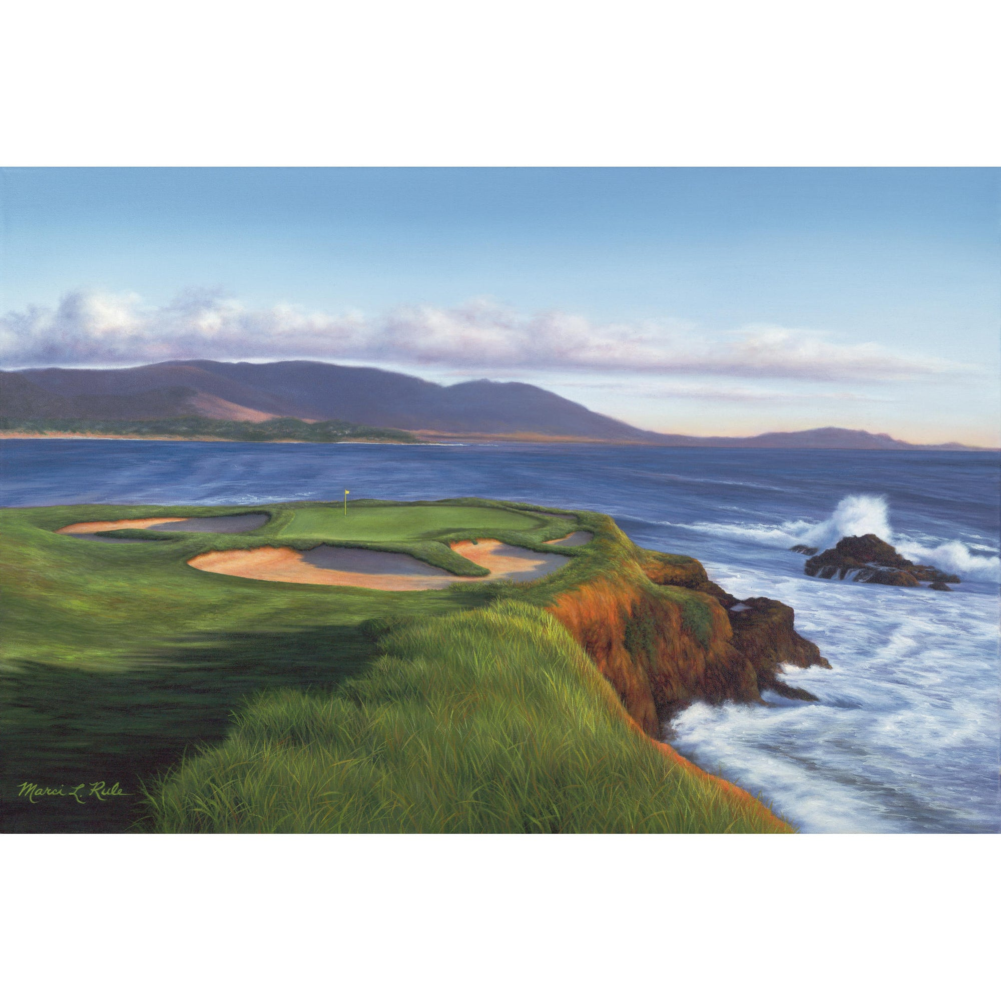 Pebble Beach #7 - Original
