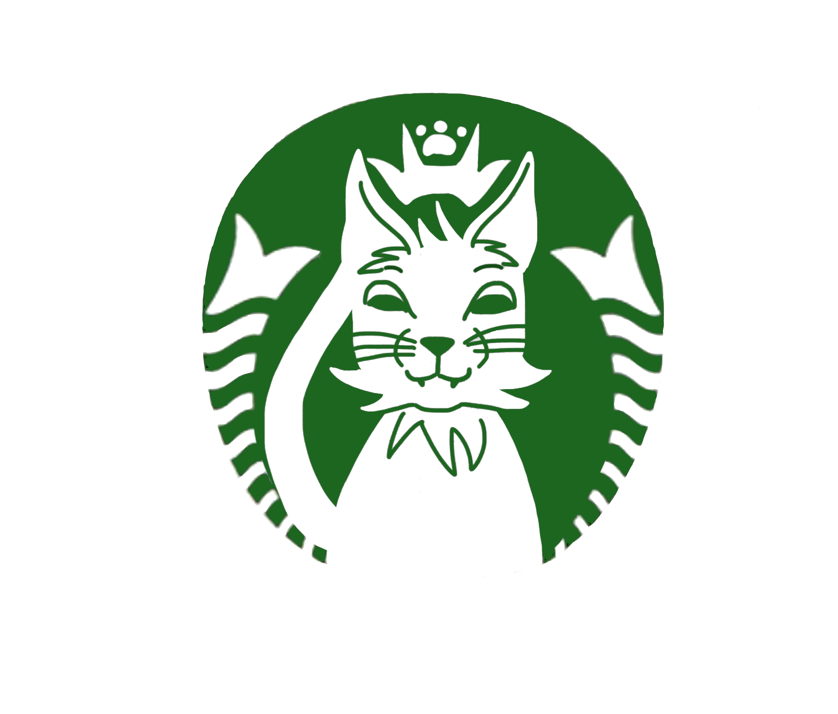 Catte latte cup