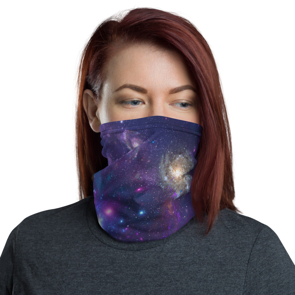Galaxy Print Neck Gaiter