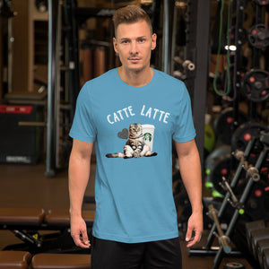 Catte Latte Short-Sleeve Unisex T-Shirt