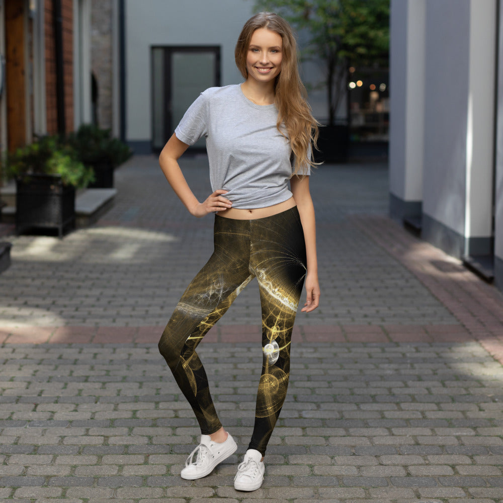 Cosmic Print Leggings