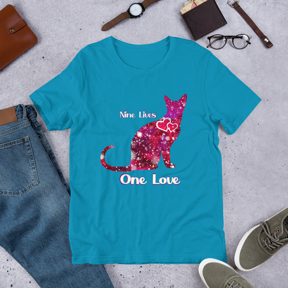Valentine Cat T-Shirt