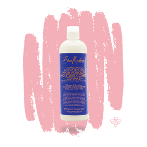 Shea Moisture Mongongo & Hemp Seed Oils Moisturizing Co-Wash  355ml
