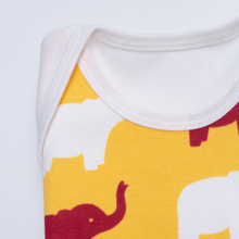 "Load image into Gallery viewer, Functional Romper - ""Elephant"""