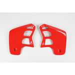 CR 125 Radiator Covers-red