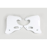 1992-1994 CR 250 Radiator Covers-white