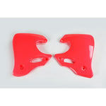 1992-1994 CR 250 Radiator Covers-red