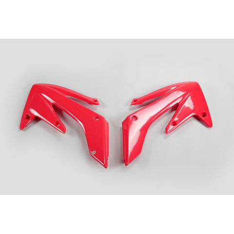 2004-2017 CRF 250X Radiator Covers-red