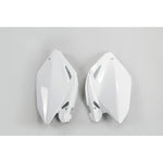 2004-2005 CRF 250R-RX Side Panels-white