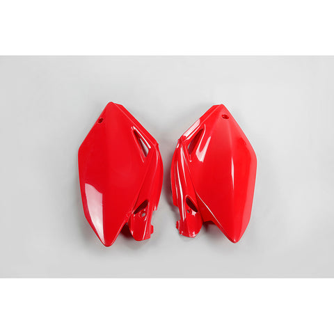 2004-2005 CRF 250R-RX Side Panels-red