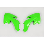 2004-2020 CRF 50 Radiator Covers-green
