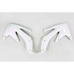 2005-2007 CRF 450X Radiator Covers-white