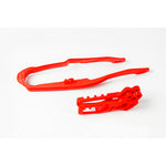 2005-2006 CRF 250R-RX Chain Guide & Slider Kit-red