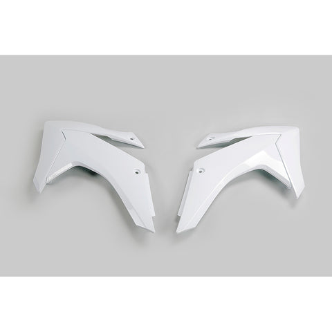 2015-2020 CRF 230 Radiator Covers-white