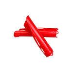 CRF 450R-RX Fork Slider Protectors-red
