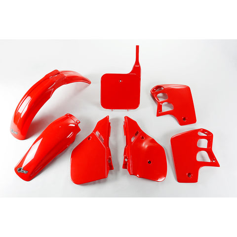 1989-1990 CR 500 Plastic Kit-red