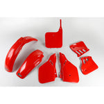 1987-1988 CR 125 Plastic Kit-red