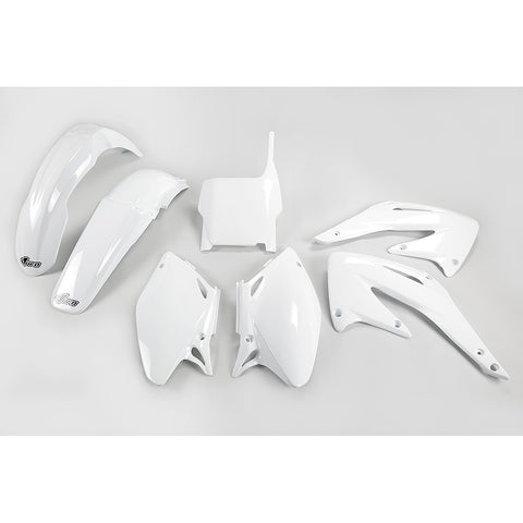 2004 CRF 450R Plastic Kit-white