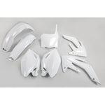 2008-2009 CRF 250R Plastic Kit-white
