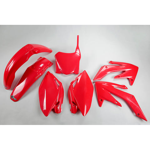2008-2009 CRF 250R Plastic Kit-red