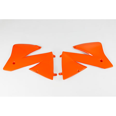 2001-2002 KTM520 Radiator Covers-orange