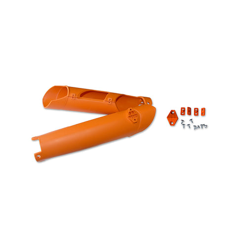 2008-2015 EXC Fork Slider Protectors-orange