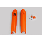 2007-2014 SX Fork Slider Protectors w/QuickStart-orange