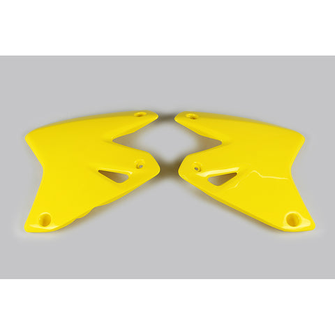 2000-2020 DRZ 400E Radiator Covers-yellow