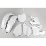 2000-2001 YZ 125 Plastic Kit-white