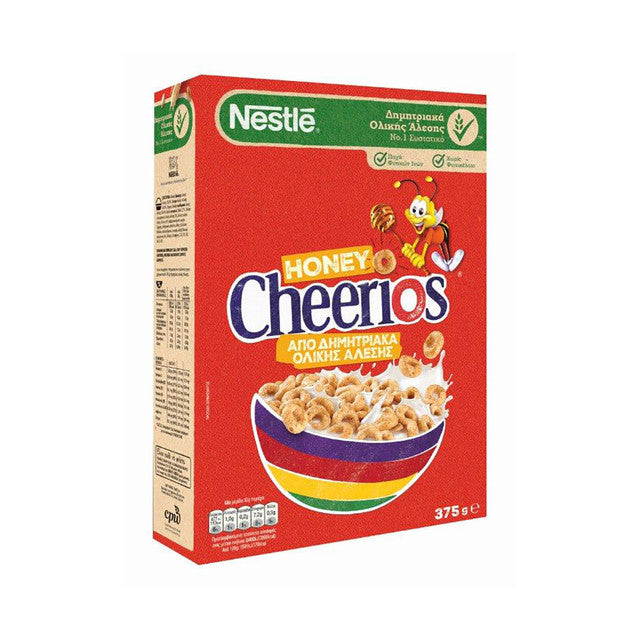 NESTLE CHEERIOS WITH HONEY CEREAL