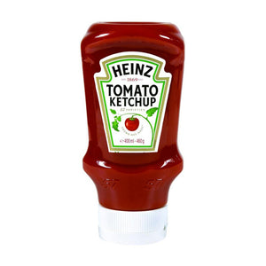 HEINZ KETCHUP  TOP DOWN