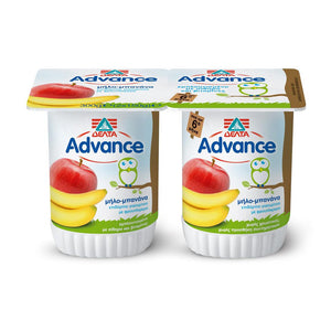 DELTA ADVANCE BANANA & APPLE YOGURT
