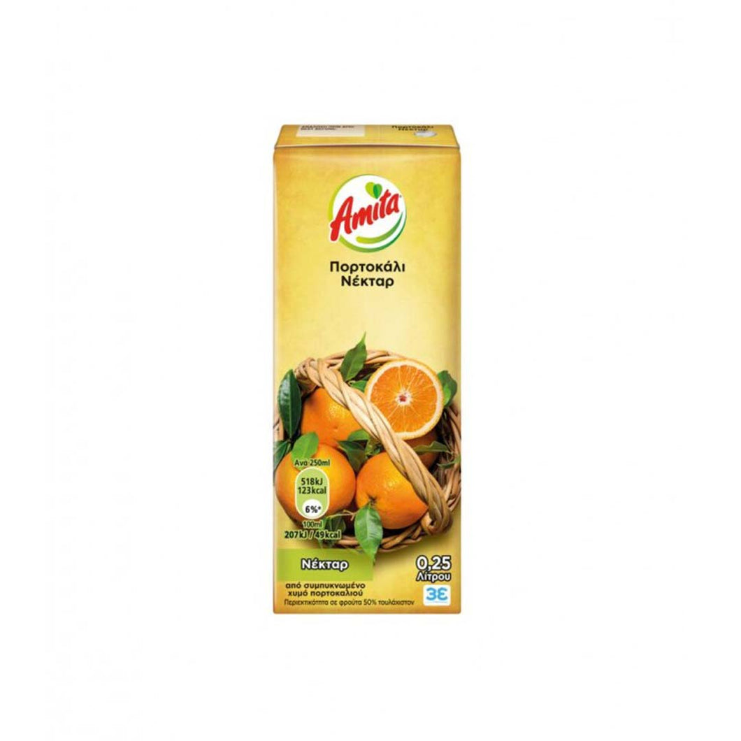 AMITA NECTAR ORANGE JUICE