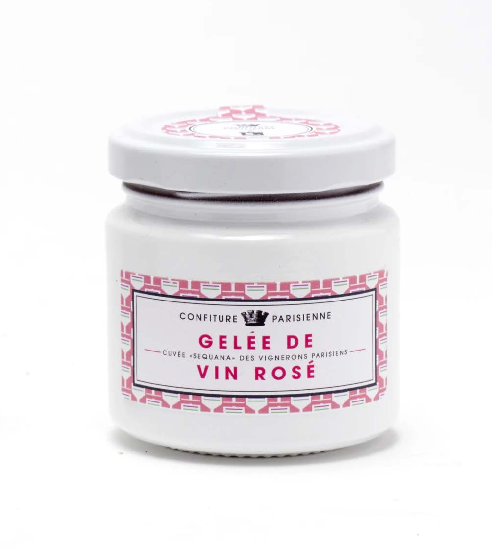 CONFITURE PARISIENNE ROSÉ WINE JELLY FROM LES VIGNERONS PARISIENS