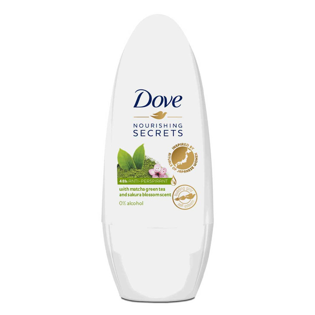 DOVE ROLL DEODORANT MATCHA GREEN TEA