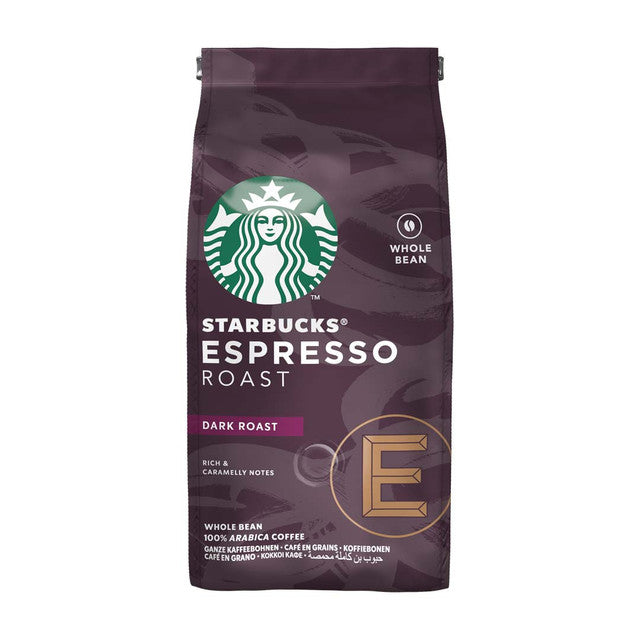 STARBUCKS ESPRESSO DARK ROAST BEANS