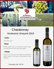 Load image into Gallery viewer, Chardonnay Houlevena Vineyard 2019
