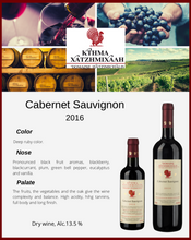 Load image into Gallery viewer, Cabernet Sauvignon 2015
